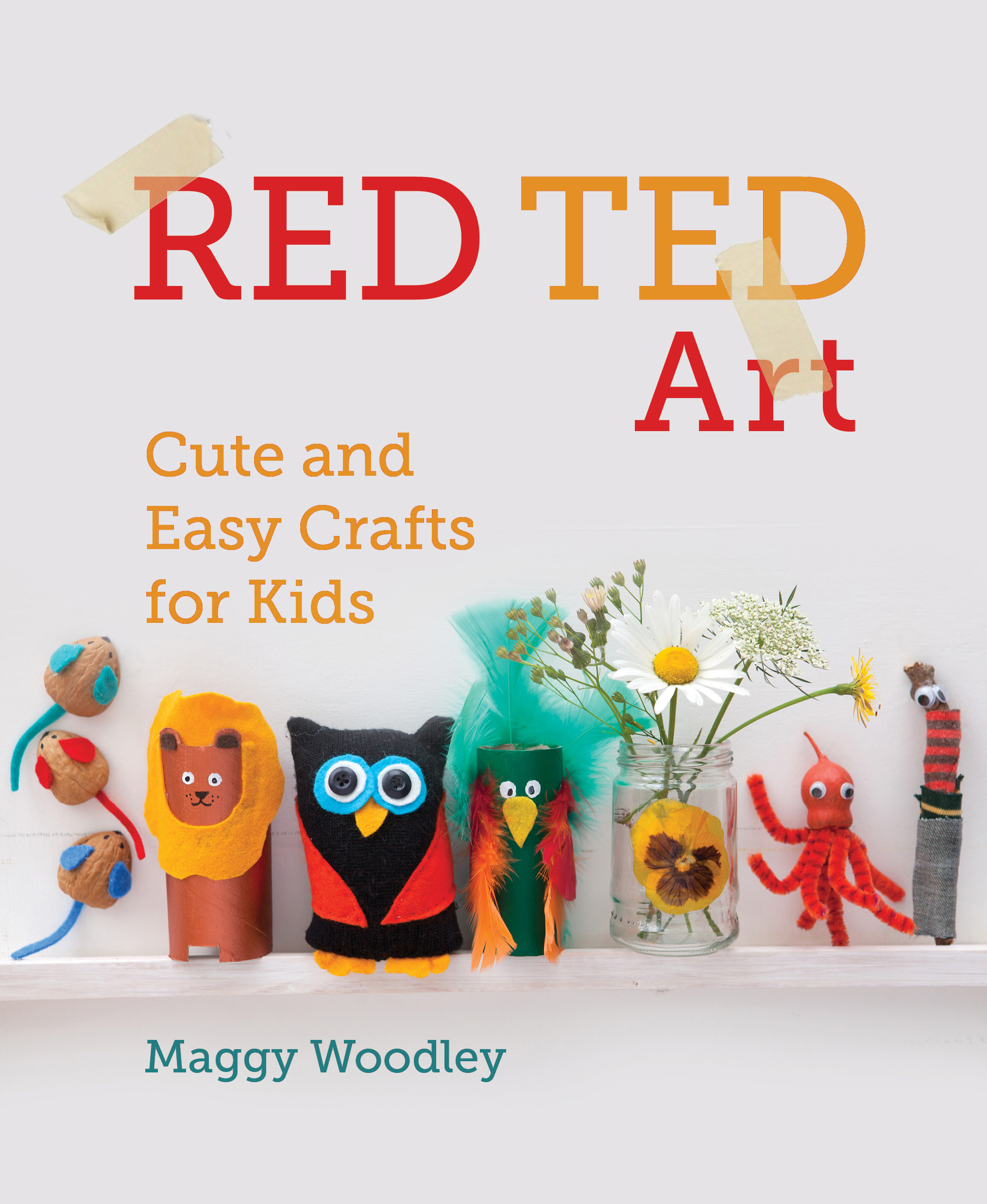 Red Ted Art Cute and Easy Crafts for Kids