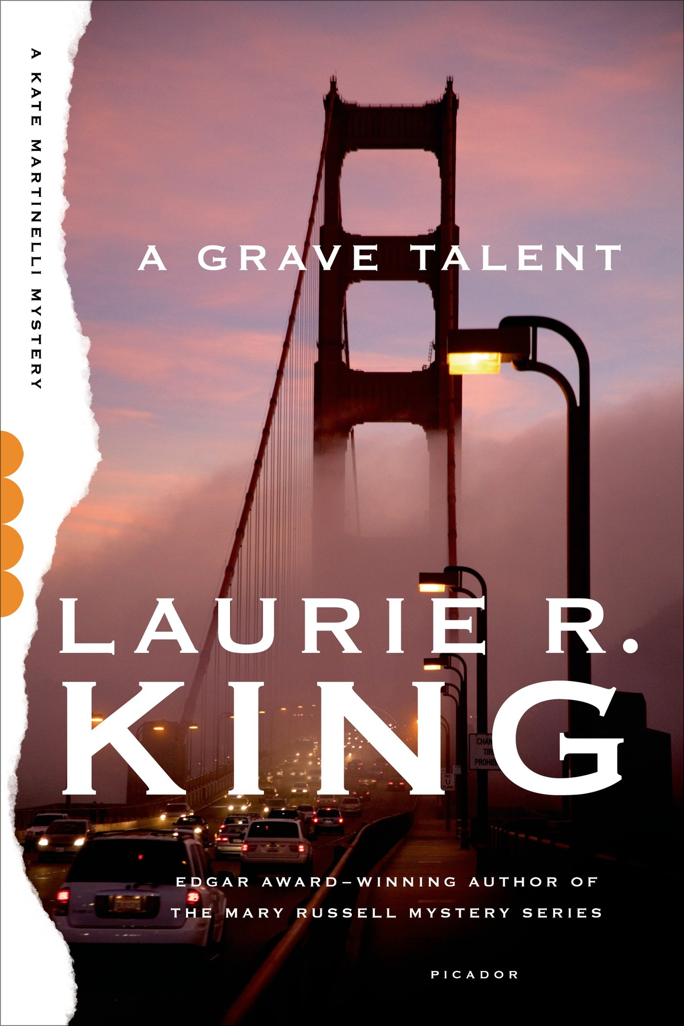 A Grave Talent By: Laurie R. King