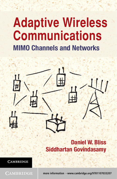 Adaptive Wireless Communications MIMO Channels and Networks