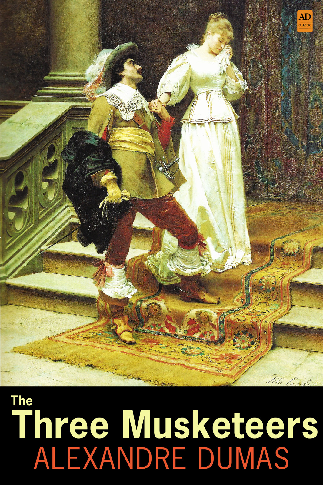 The Three Musketeers (AD Classic Illustrated) By: Alexandre Dumas