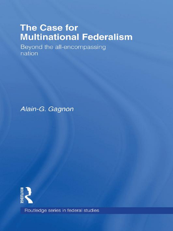 The Case for Multinational Federalism