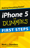 Iphone 5 First Steps For Dummies: