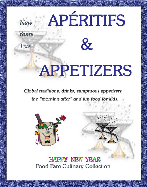 New Years Eve Aperitifs & Appetizers