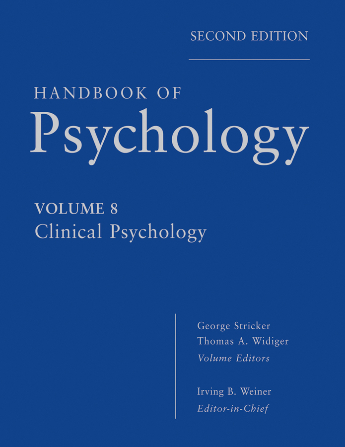 Handbook of Psychology, Clinical Psychology