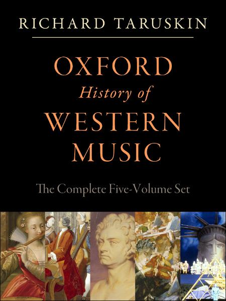 Oxford History of Western Music: 5-vol. set: 5-vol. set