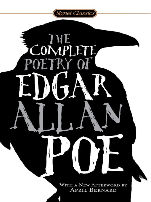The Complete Poetry of Edgar Allan Poe By: Edgar Allan Poe
