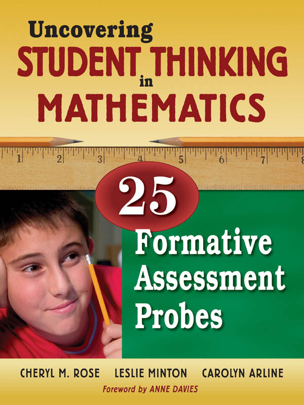 Uncovering Student Thinking in Mathematics 25 Formative Assessment Probes