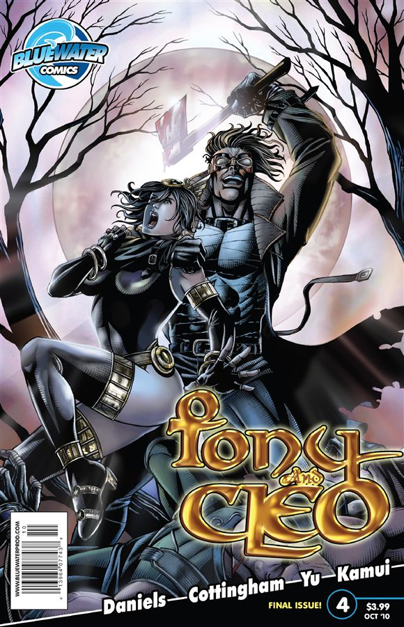 Tony and Cleo #4 By: Jaymes Reed,Kamui Oscuro,DaFu Yu,Ken Cottingham,Kenton Daniels,Darren G. Davis