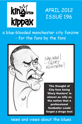 King of the Kippax. April 2012. Issue 196
