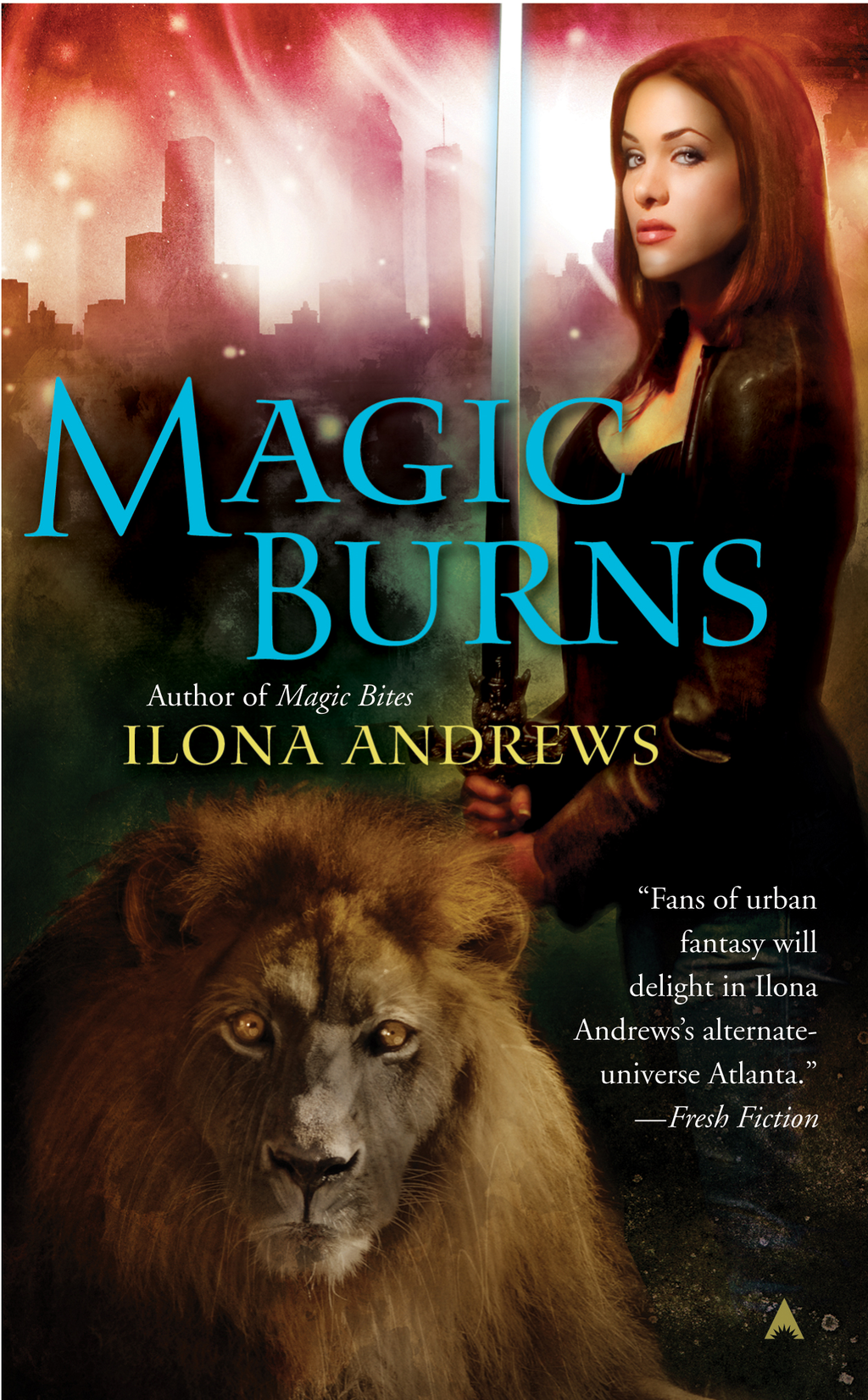 Magic Burns By: Ilona Andrews