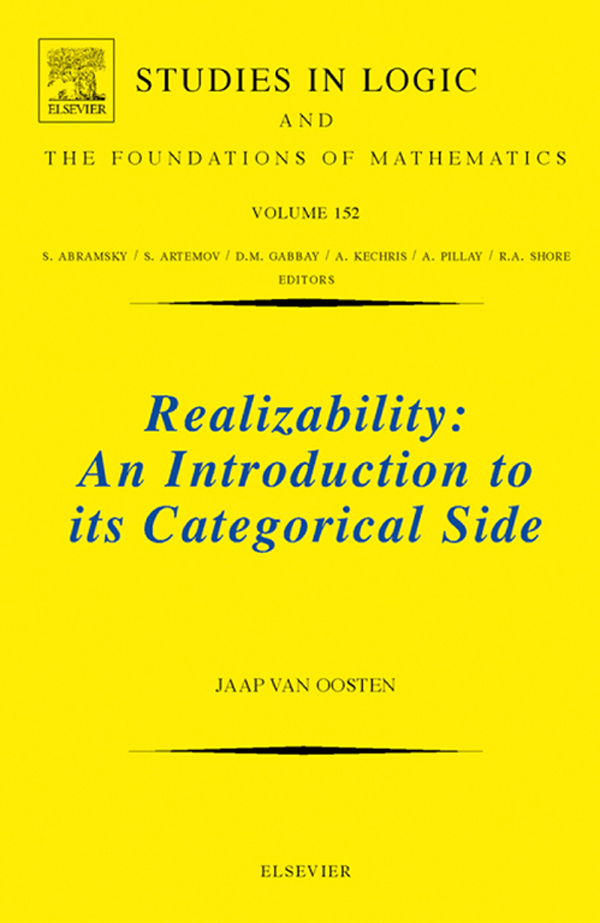 Realizability An Introduction to its Categorical Side