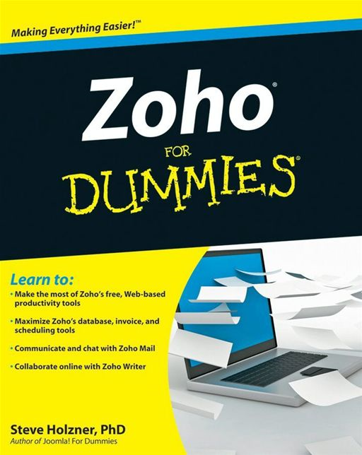 Zoho For Dummies By: Steven Holzner