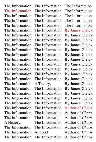 The Information By: James Gleick