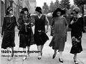 online magazine -  1920's Womens Fashion  (Women of the 1920's)