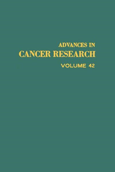 download advances ın cancer research, volume 42 book