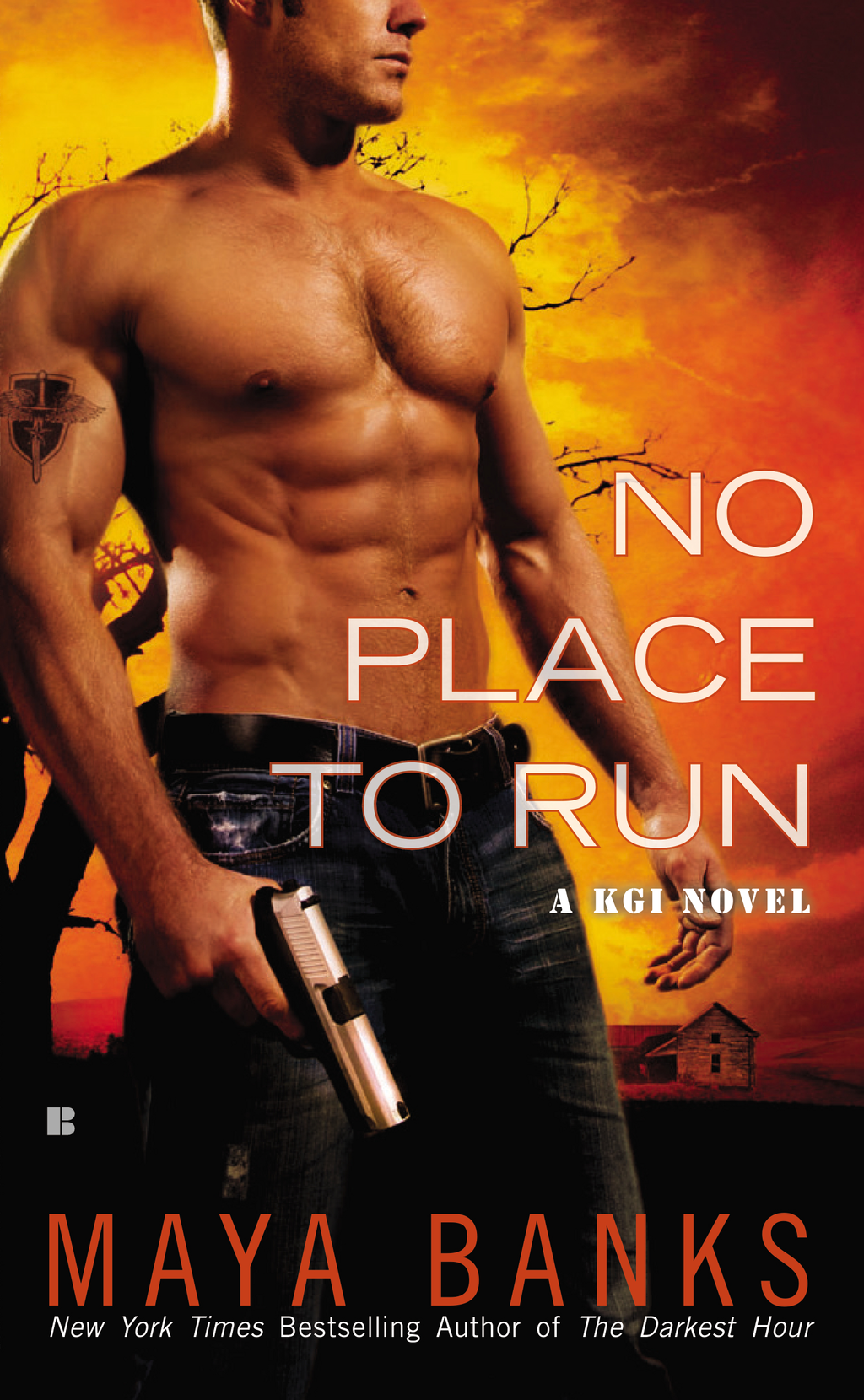 No Place to Run By: Maya Banks