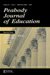 Assessing Teacher, Classroom, And School Effects: A Special Issue Of The Peabody Journal Of Education