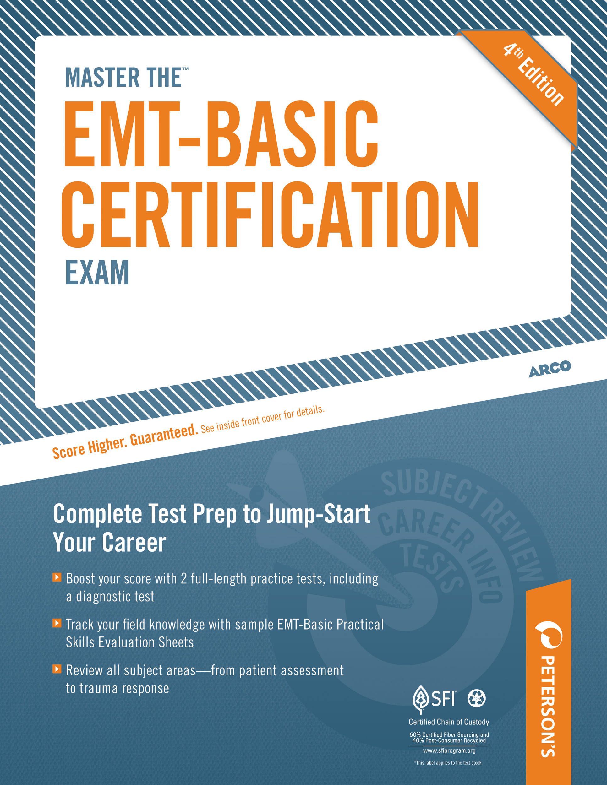 Master the EMT-Basic Certification Exam: All About the EMT