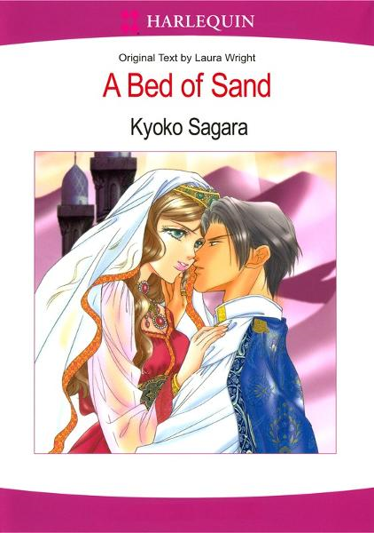 Harlequin comics: A Bed of Sand-Sample