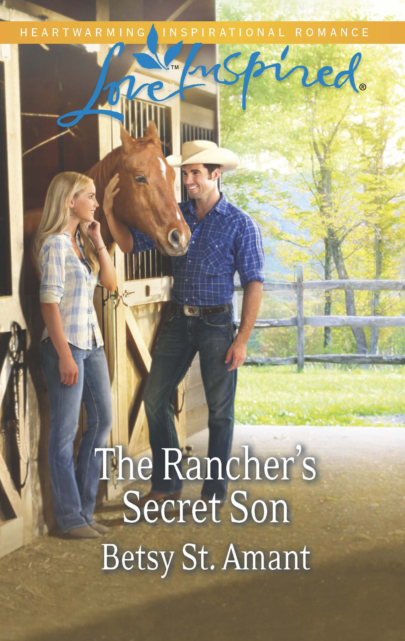 The Rancher's Secret Son (Mills & Boon Love Inspired)