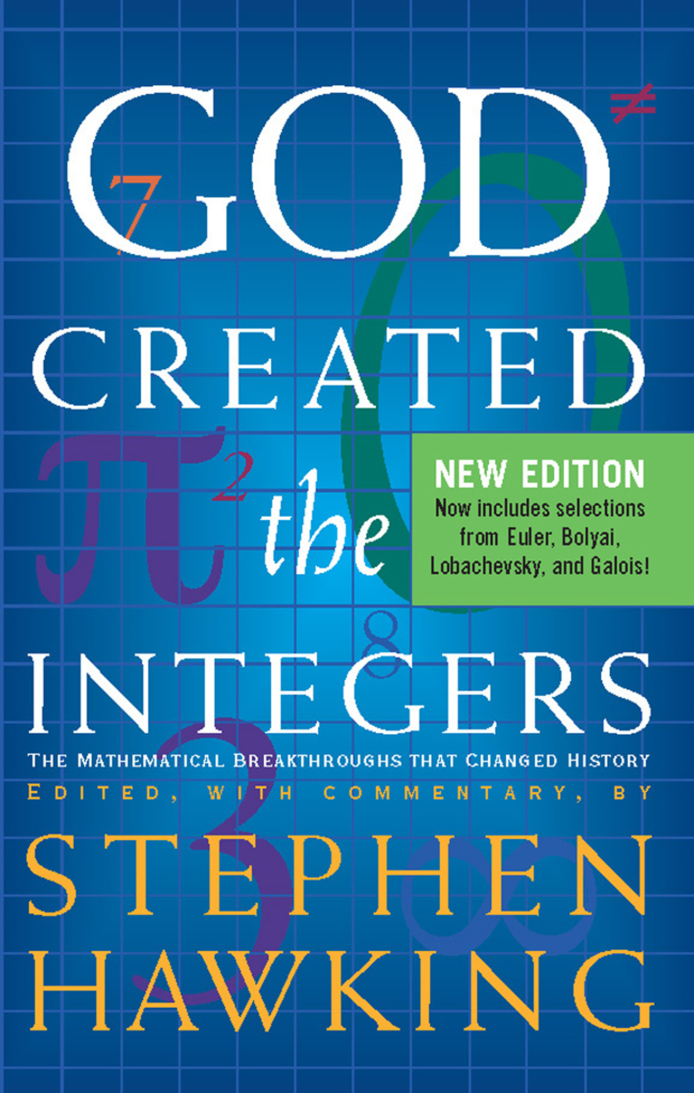 God Created The Integers By: