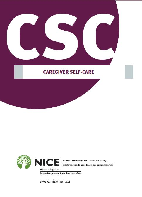 Caregiver Self Care By: National Initiative for the Care of the Elderly