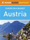 Rough Guides Snapshot Europe On A Budget: Austria
