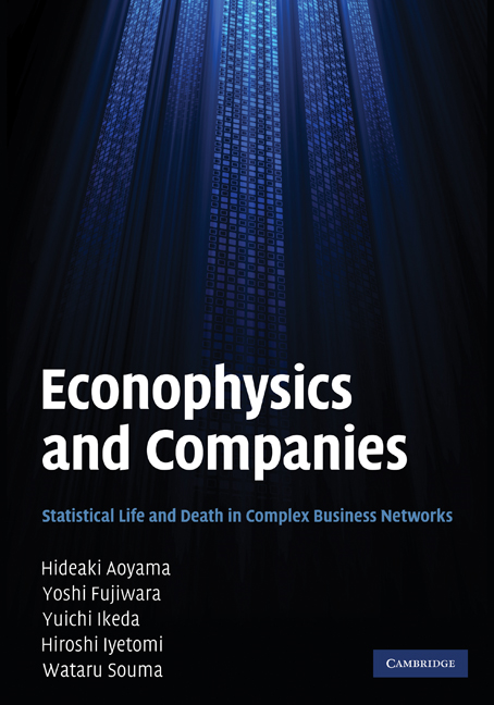 Econophysics and Companies Statistical Life and Death in Complex Business Networks