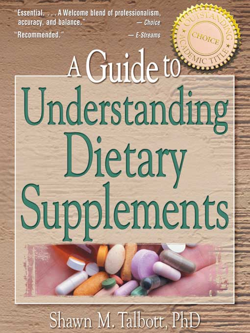 A Guide to Understanding Dietary Supplements
