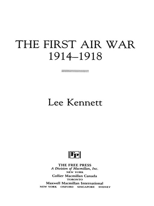 The First Air War By: Lee Kennett