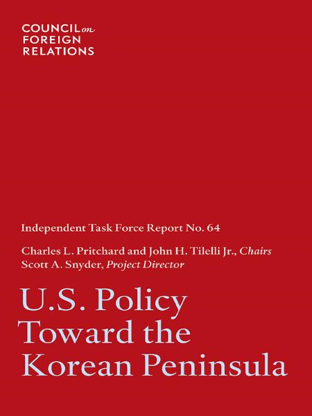 U.S. Policy Toward the Korean Peninsula