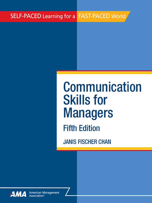 Communication Skills for Managers: EBook Edition