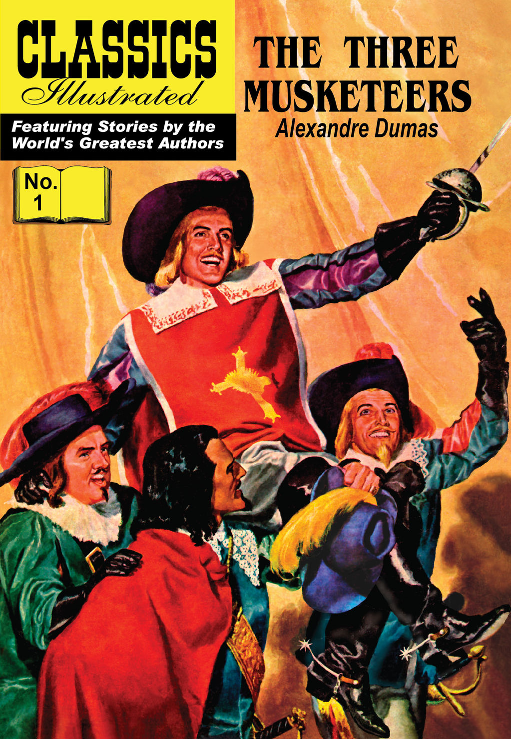 The Three Musketeers - Classics Illustrated #1 By: Alexandre Dumas