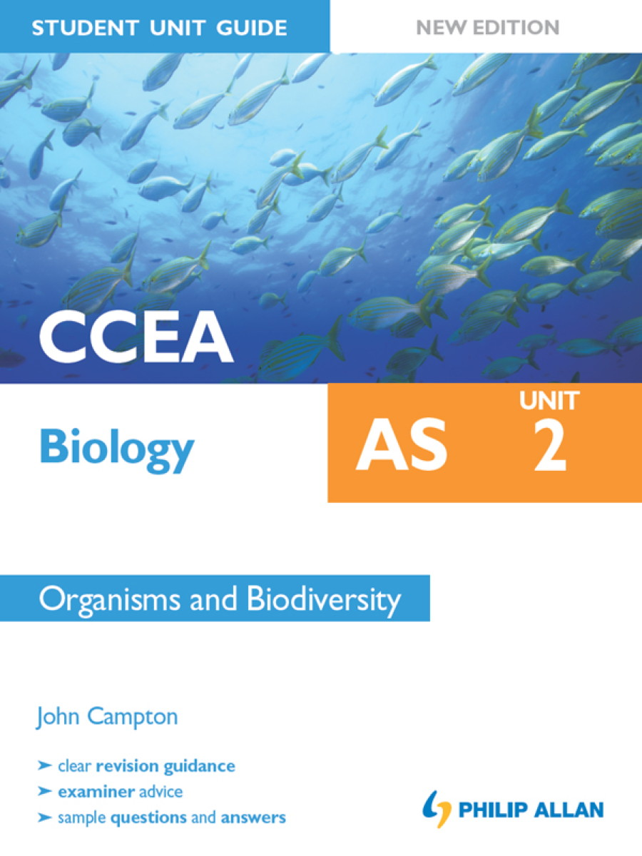CCEA Biology AS Student Unit Guide: Unit 2 New Edition Organisms and Biodiversity ePub