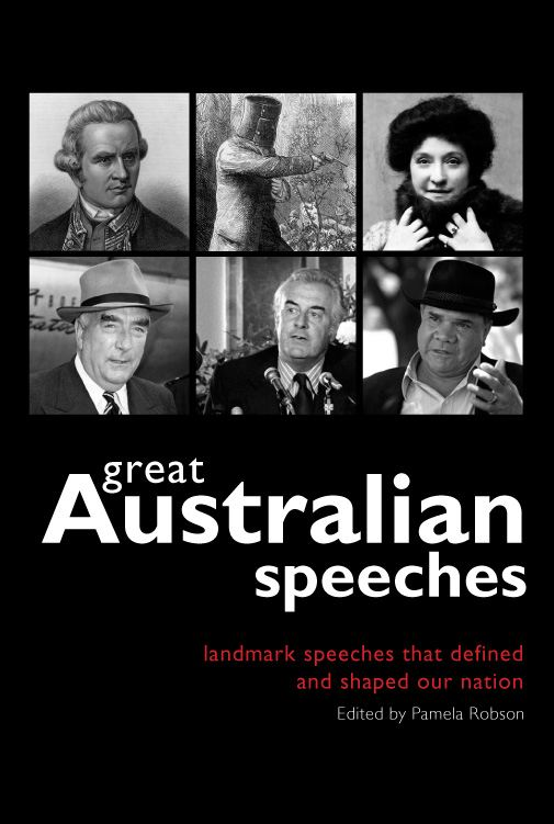 Great Australian Speeches By: Pamela Robson (ed)