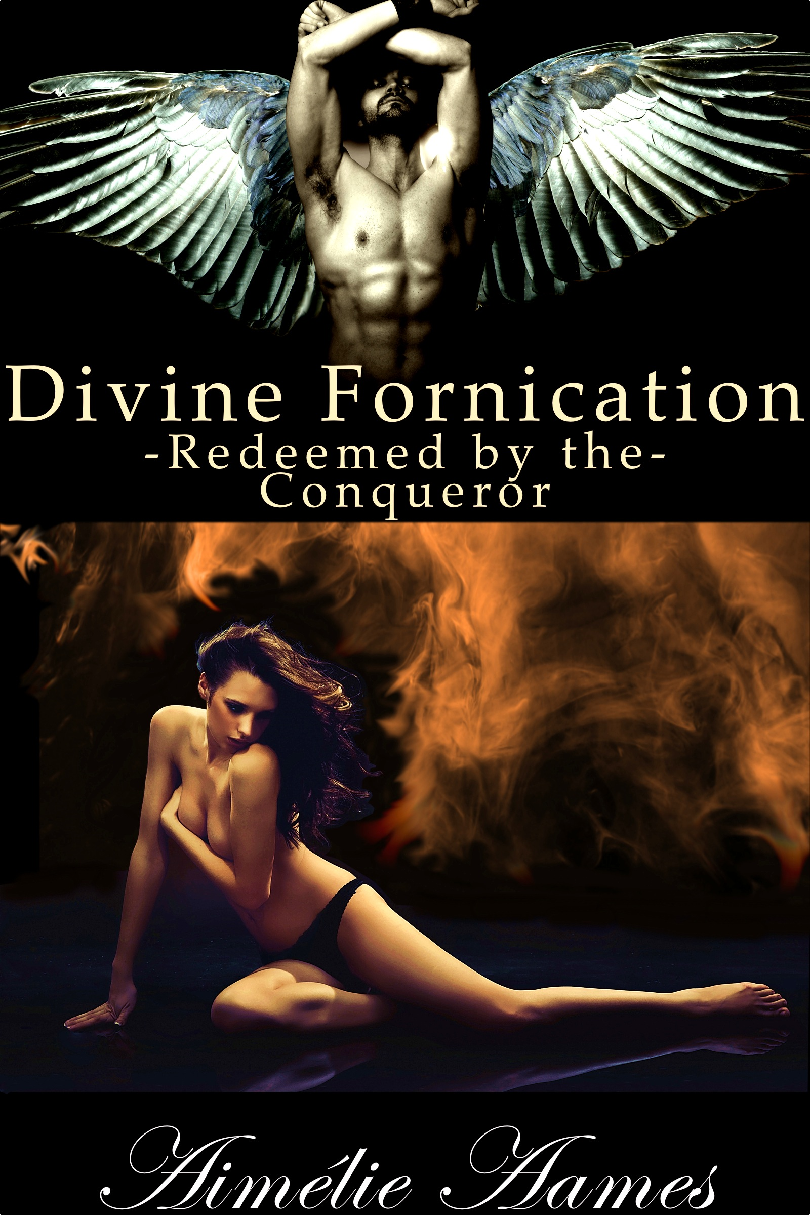 Redeemed by the Conqueror (Divine Fornication IV-An Erotic Story of Angels, Vampires and Werewolves)