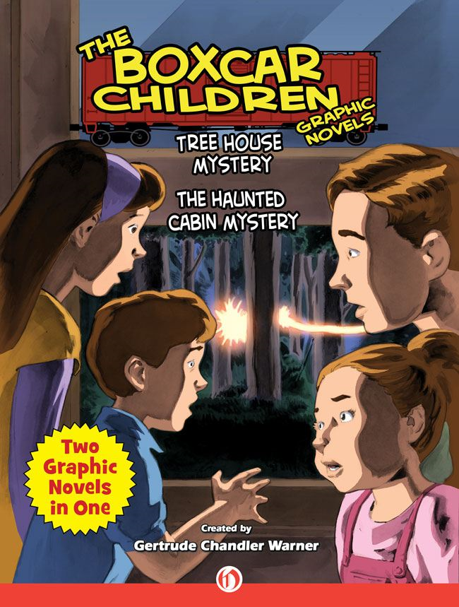 Tree House Mystery & The Haunted Cabin Mystery By: Christopher E. Long,Gertrude Chandler Warner,Jeff Limke,Mark Bloodworth