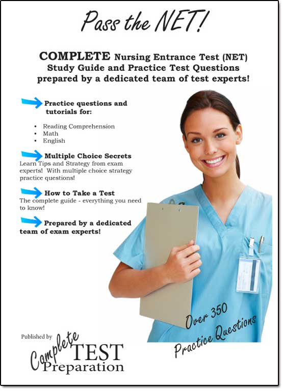 Pass the NET: Nursing Entrance Test Study Guide and Practice Tests