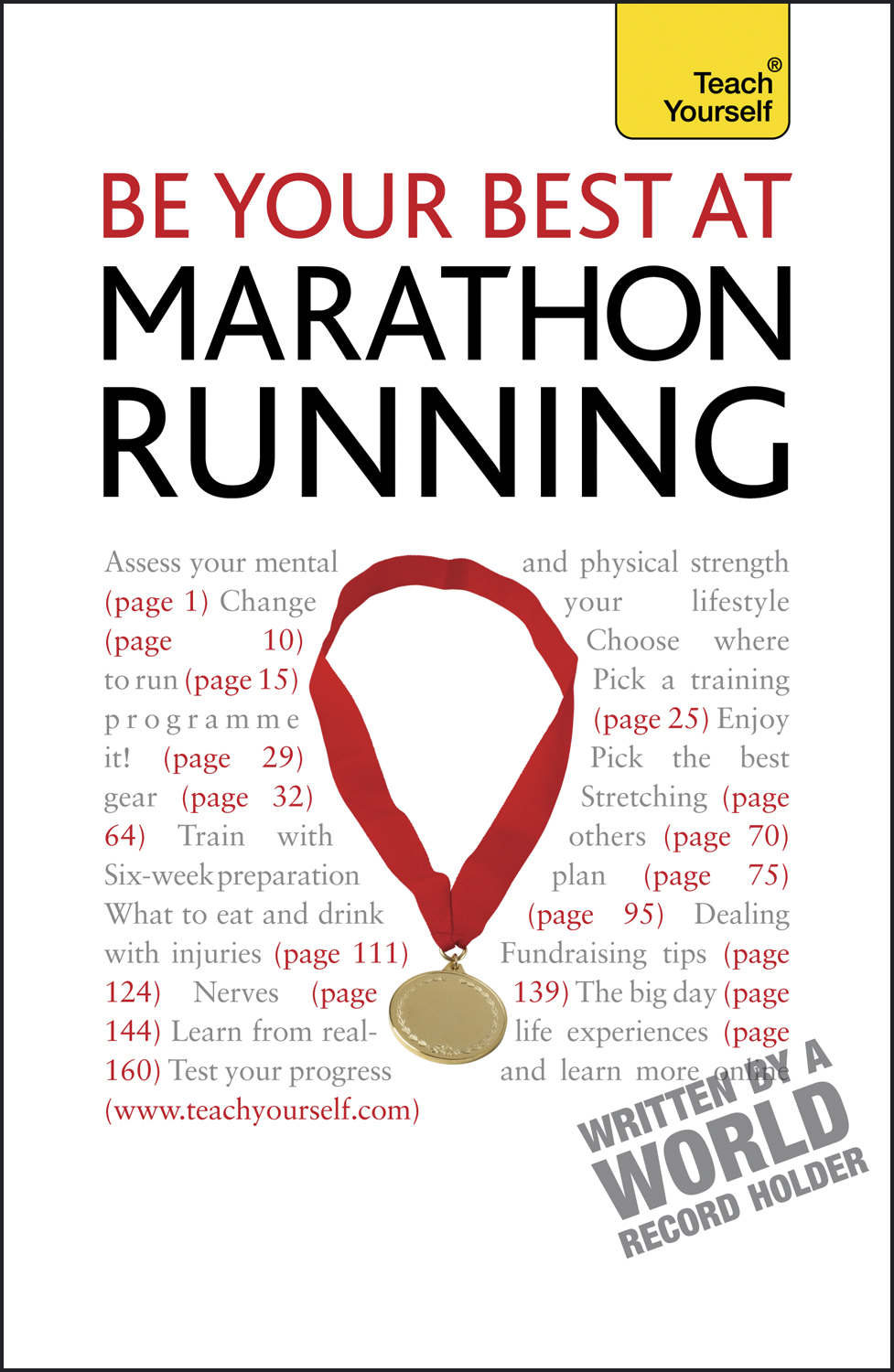Be Your Best At Marathon Running: Teach Yourself