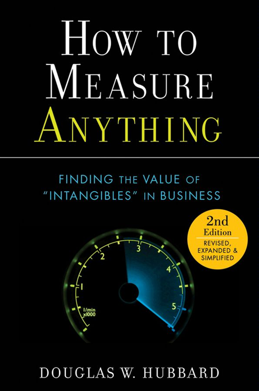 How to Measure Anything By: Douglas W. Hubbard