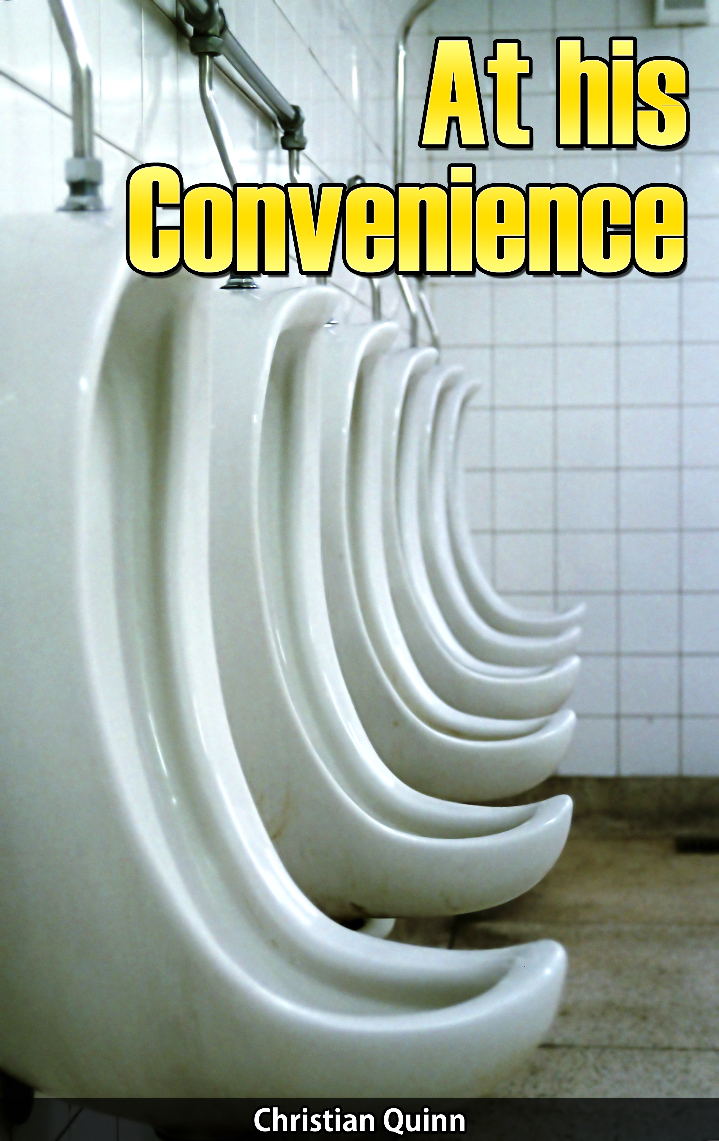 At His Convenience (Gay Watersports Erotic Short Story)