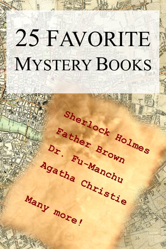 25 Favorite Mystery Books