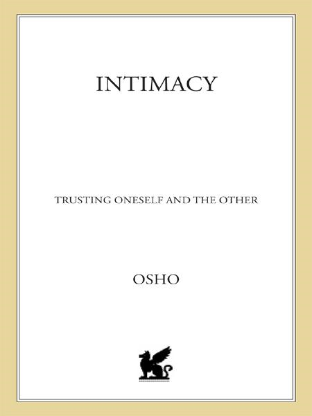 Intimacy By: Osho