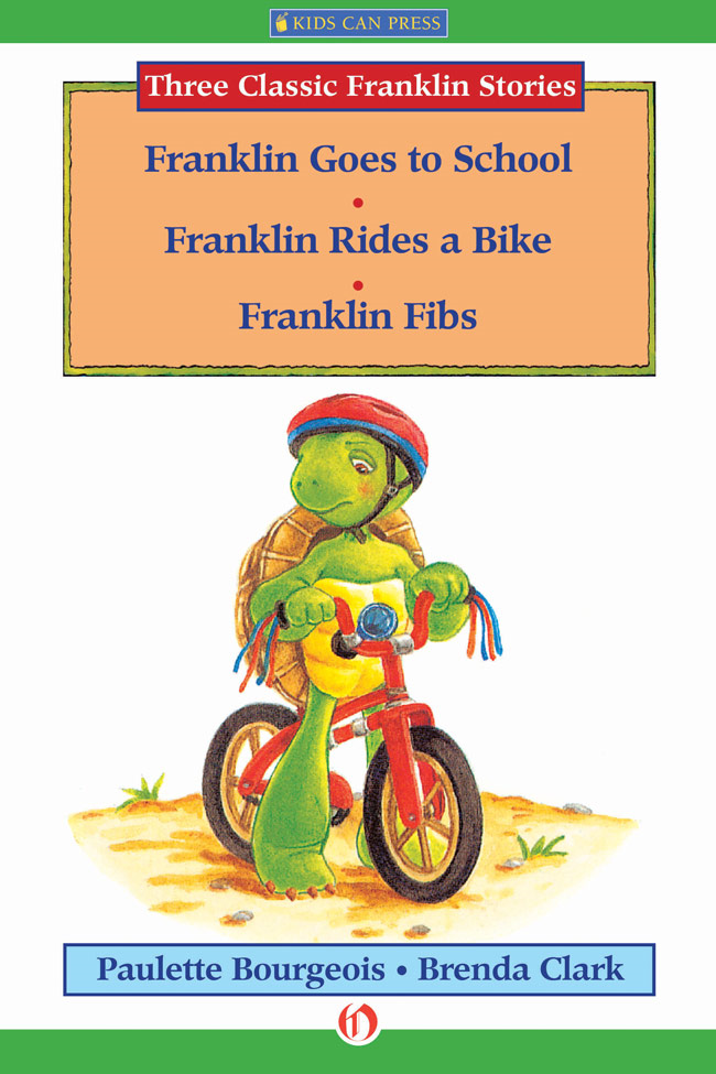 Franklin Goes to School, Franklin Rides a Bike, and Franklin Fibs
