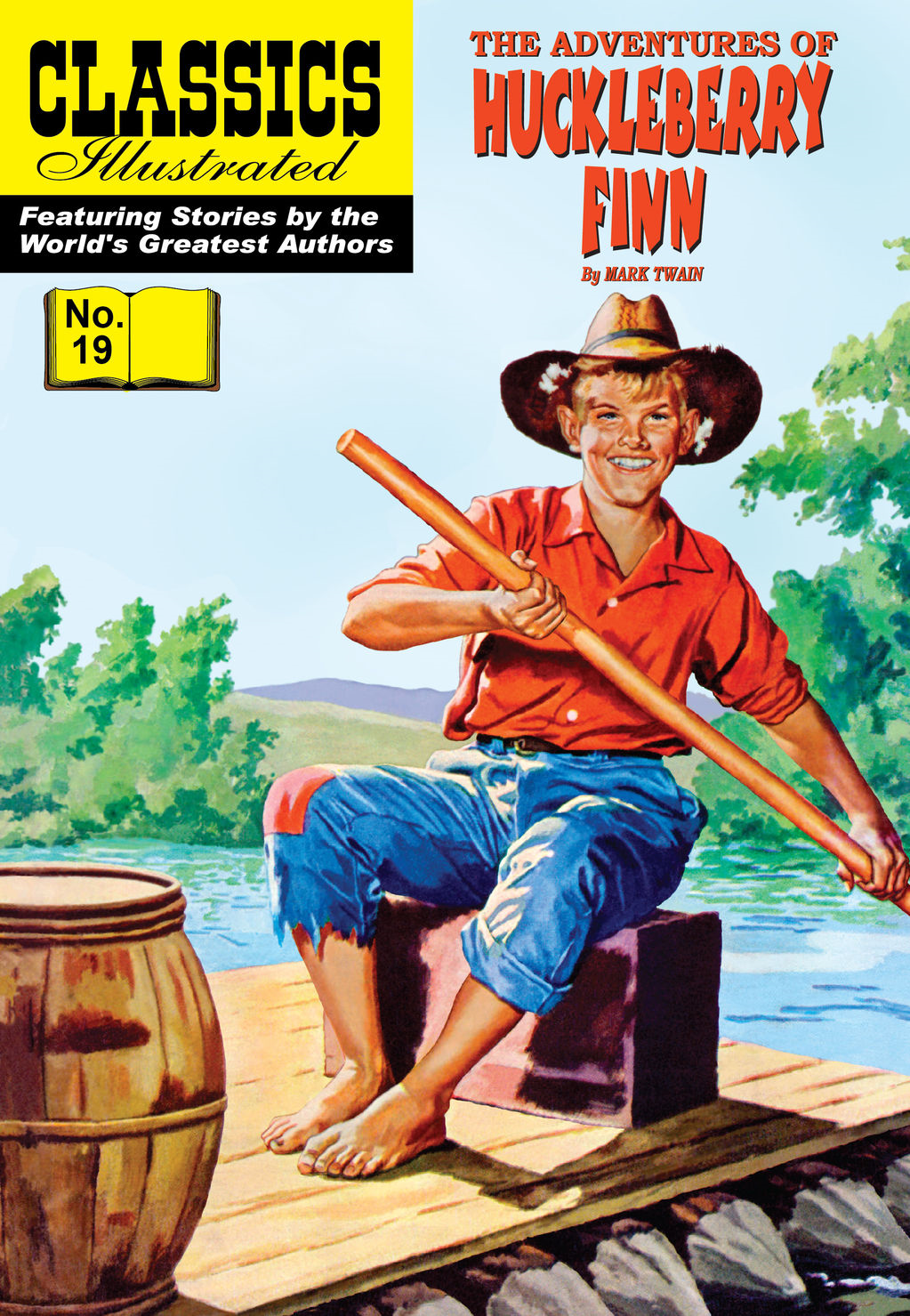 Huckleberry Finn - Classics Illustrated #19
