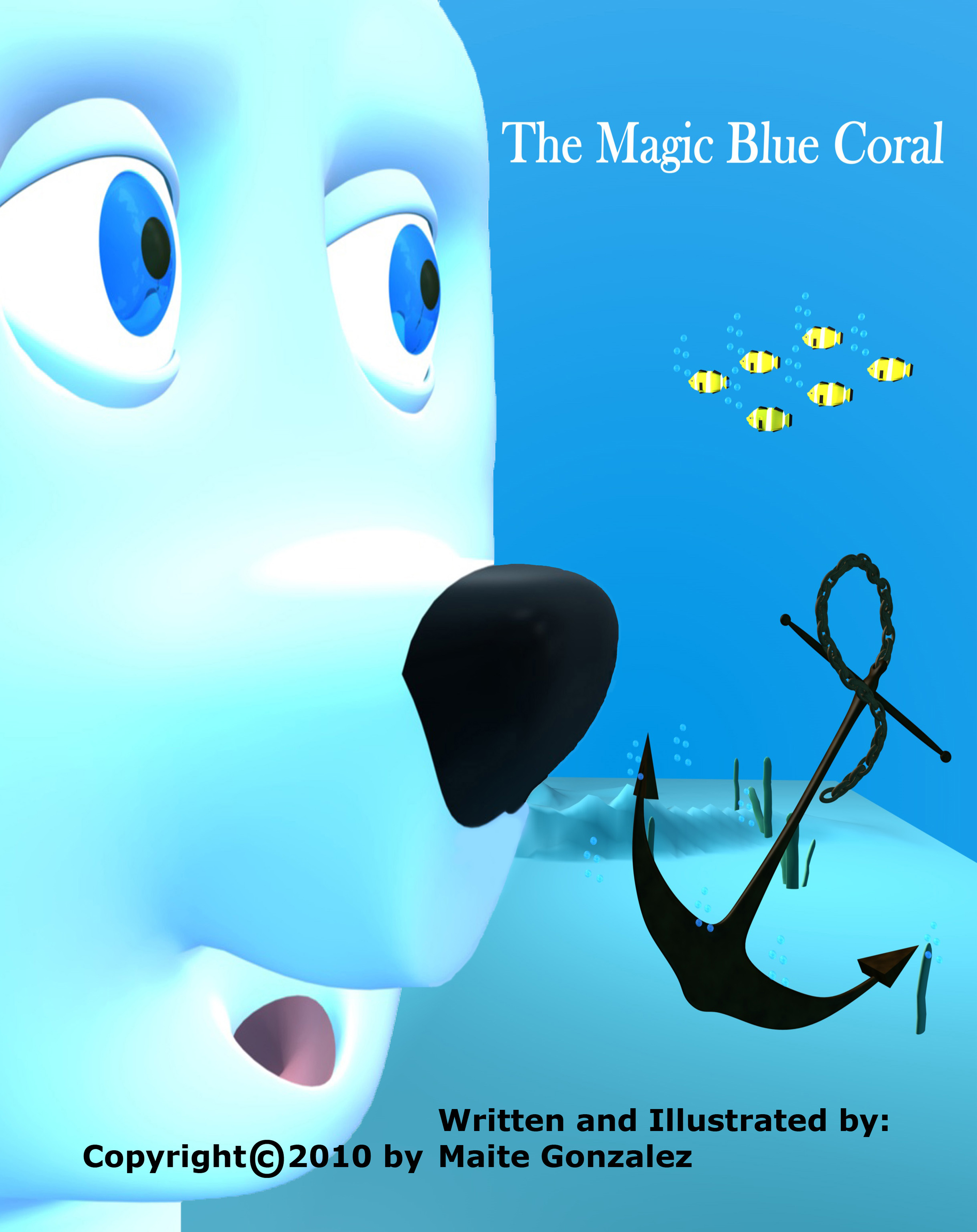 The Magic Blue Coral
