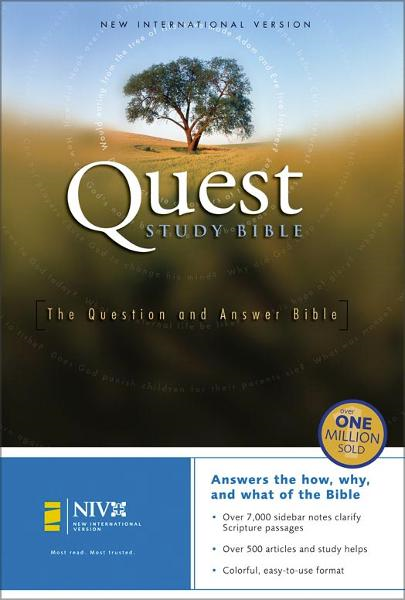 Quest Study Bible By: Zondervan