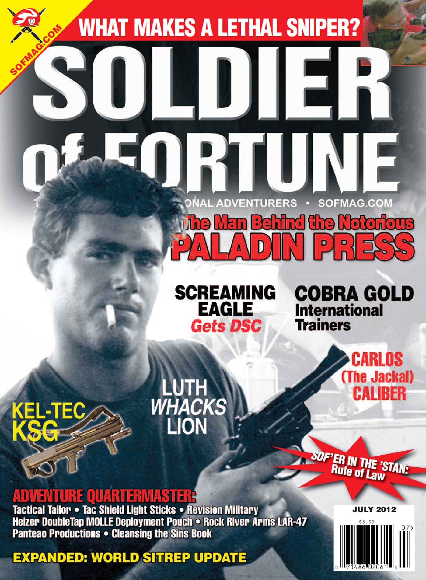 Soldier of Fortune- July 2012