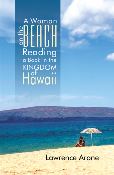 A Woman on the Beach Reading a Book in the Kingdom of Hawaii