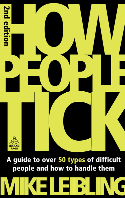 How People Tick By: Mike Leibling